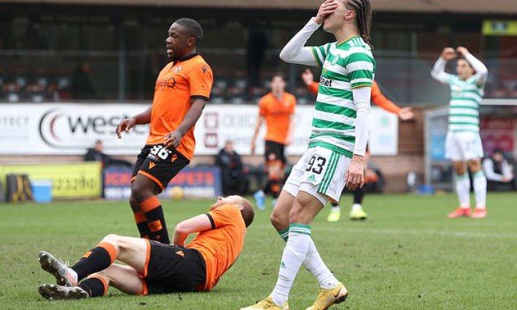 Dundee United 0-0 Celtic: Rangers are Scottish Premiership champions