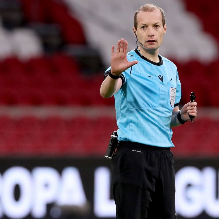 William Collum announced as the ref for the derby game