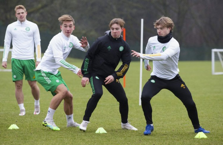 Youngster Adam Montgomery on brink of Celtic opportunity after weekend friendly - 67 Hail Hail
