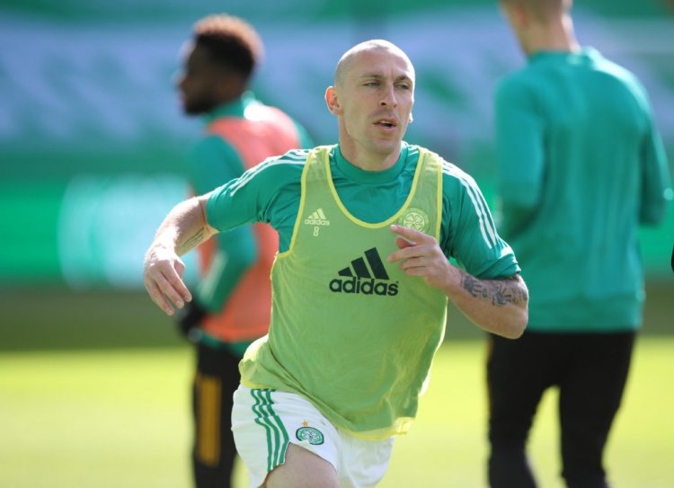 Chris Sutton urges Celtic to end speculation over Scott Brown's future - 67 Hail Hail