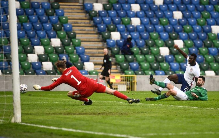 VIDEO: Celtic goalkeeper Conor Hazard has a strange time of it on Northern Ireland return - 67 Hail Hail