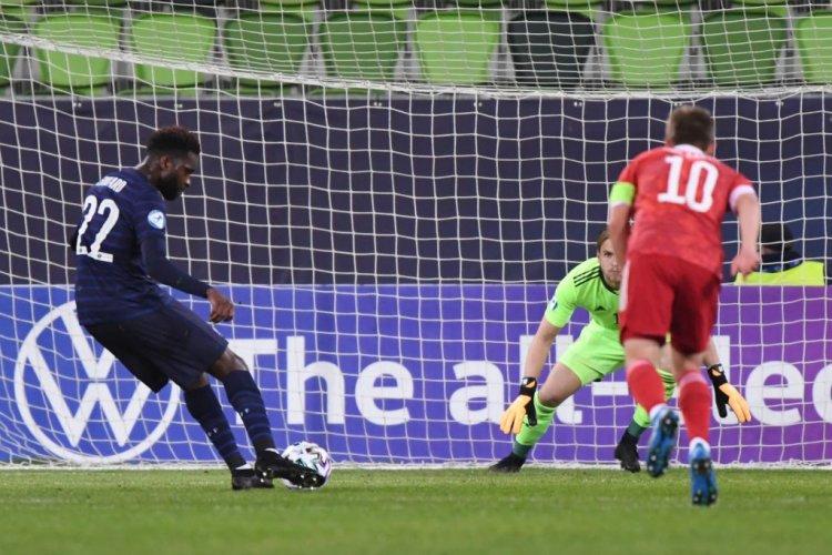 Watch Celtic superstar Odsonne Edouard bag vital goal France under-21s vs Russia last night - 67 Hail Hail