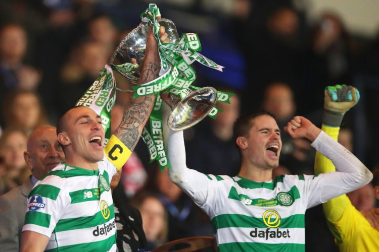 Celtic favourite Mikael Lustig leaves a hilarious message for Scott Brown - 67 Hail Hail