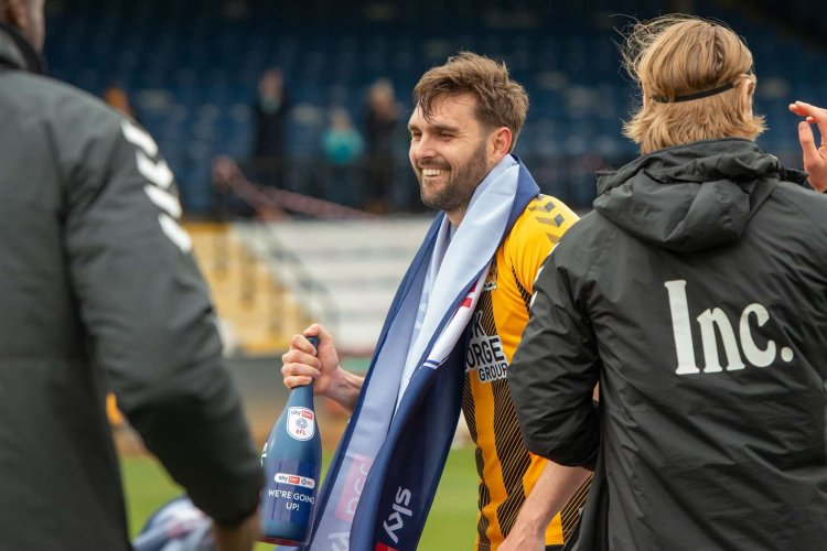 Captain's pride for Greg Taylor in Cambridge United's promotion