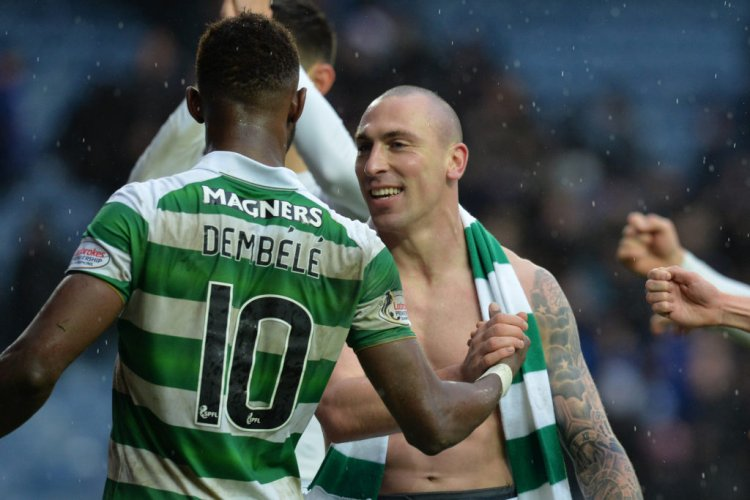 Moussa Dembele sends class message to Scott Brown as Celtic share new video - 67 Hail Hail