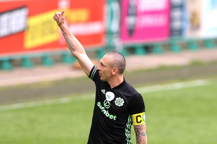 Hibernian 0 Celtic 0: Departing skipper Scott Brown can't resist one last parting shot at Rangers