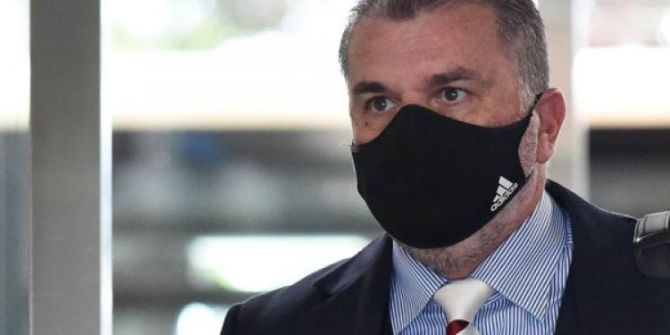 Ange Postecoglou Appearance Hours After Breaking Celtic Story