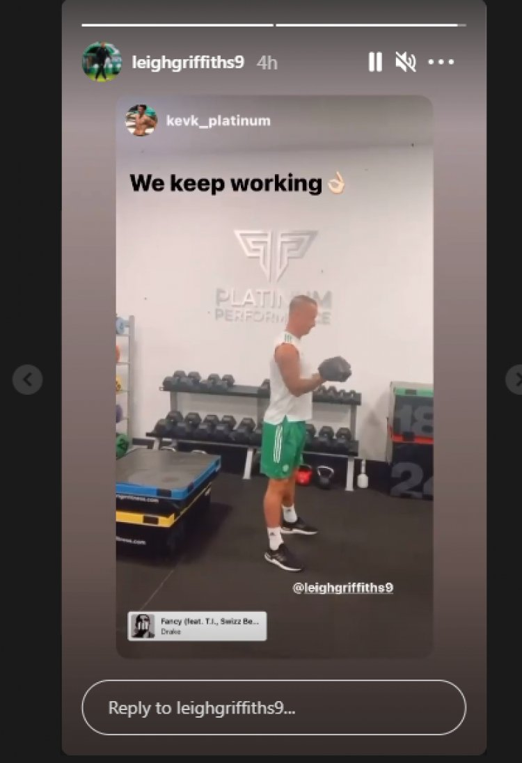 We keep working! Leigh Griffiths in new plea