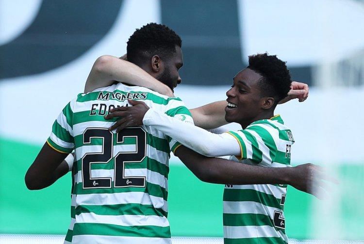 Celtic star Odsonne Edouard snapped on holiday with Boli Bolingoli and Jeremie Frimpong - 67 Hail Hail