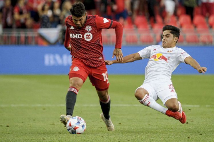 Teenage substitute Priso scores to give Toronto FC a 1-1 tie with Red Bulls