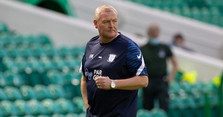 Preston North End boss Frankie McAvoy visits Hamilton Accies after Celtic win