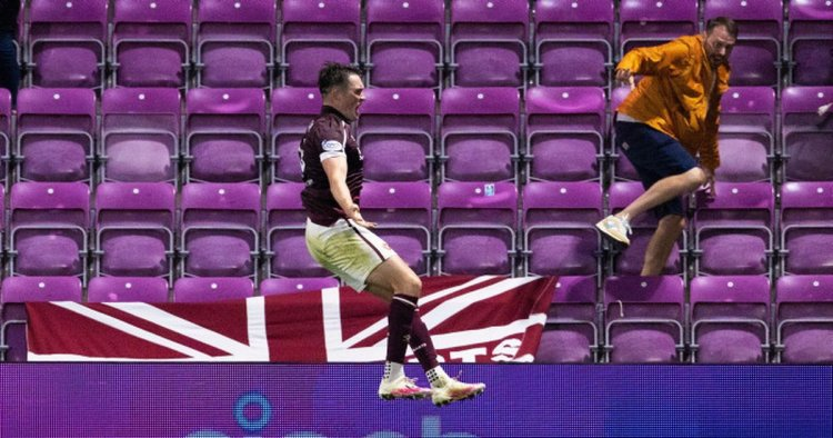John Souttar in 'beast mode' before and after his Hearts winner v Celtic