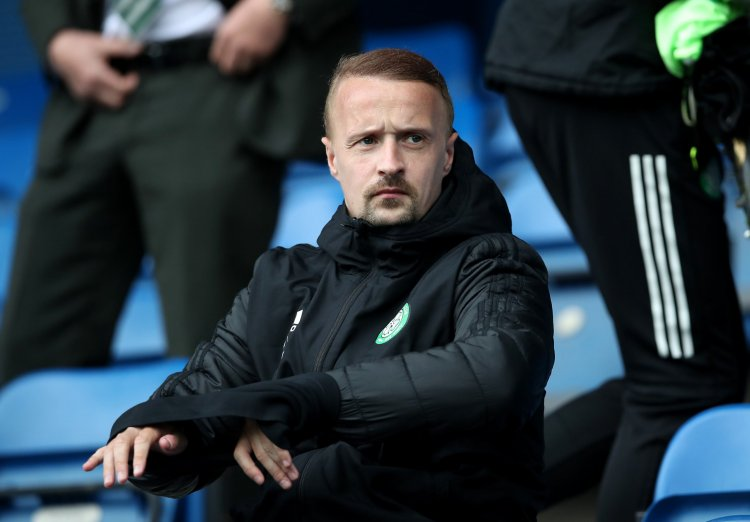 Bad week continues for on-loan Celtic man Leigh Griffiths; subbed off in first half vs rivals - 67 Hail Hail