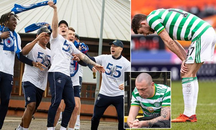 Celtic 'GUTTED' to lose Scottish Premiership title to rivals Rangers