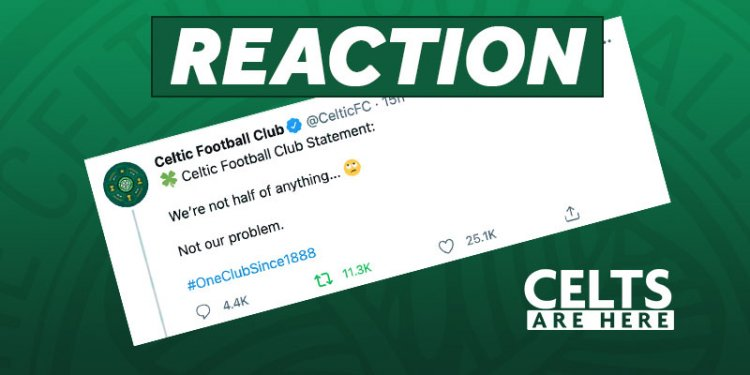 Celtic Branded 'Dazed and Confused': Statement Aftermath
