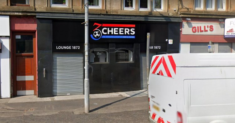 Drunk Glasgow lout battered man with belt and bottle after watching Old Firm game in city pub