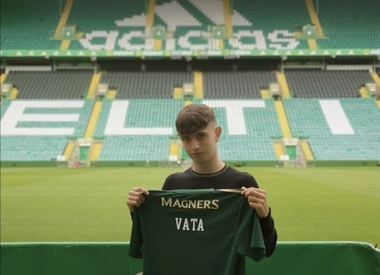 Video: Rocco Vata in stunning assist for Celtic U18s   The Celtic Star